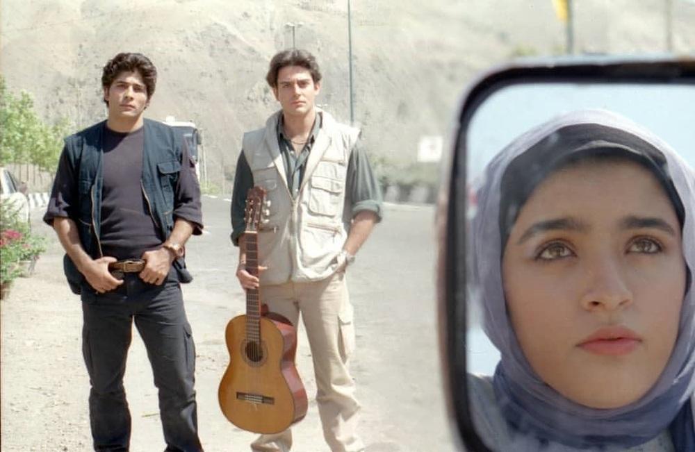 محمود کاکاوند، محمدرضا گلزار و نوشین حسین خانی در فیلم سینمایی «سام و نرگس»