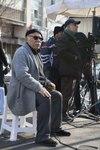 علیرضا داوودنژاد در پشت صحنه فیلم «فراری»