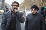 علیرضا داوودنژاد و محسن تنابنده در پشت صحنه فیلم «فراری»