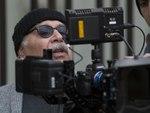علیرضا داوودنژاد در پشت صحنه نمایی از فیلم «فراری»