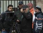 محمود کلاری در پشت صحنه فیلم «فراری»
