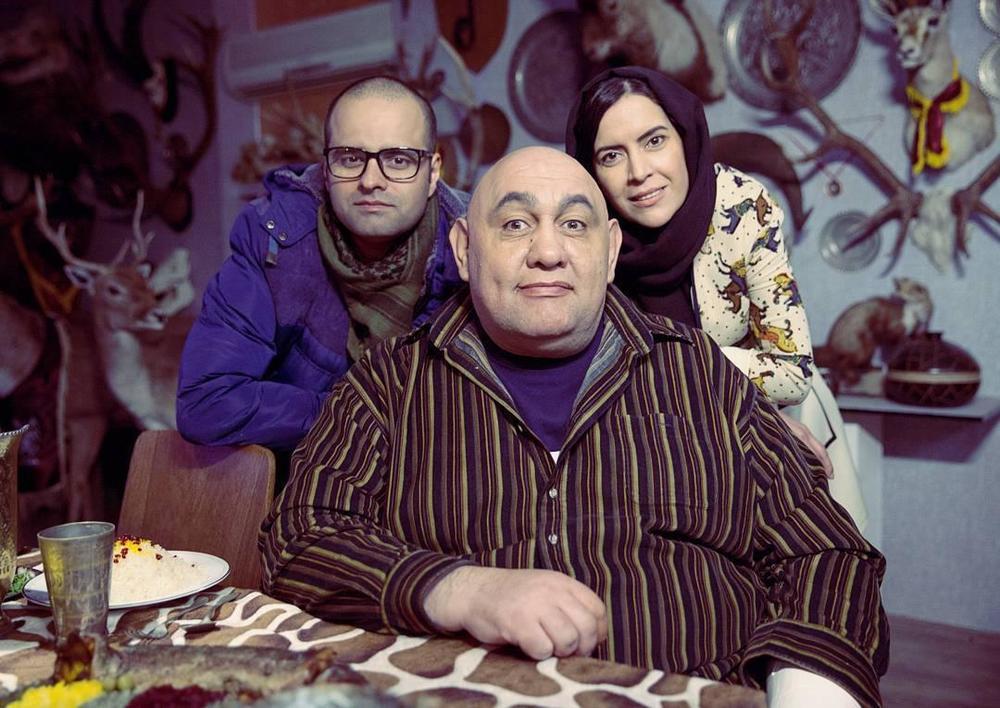 نازنین فراهانی، کاظم ملایی و لوون هفتوان در پشت صحنه فیلم «کوپال»