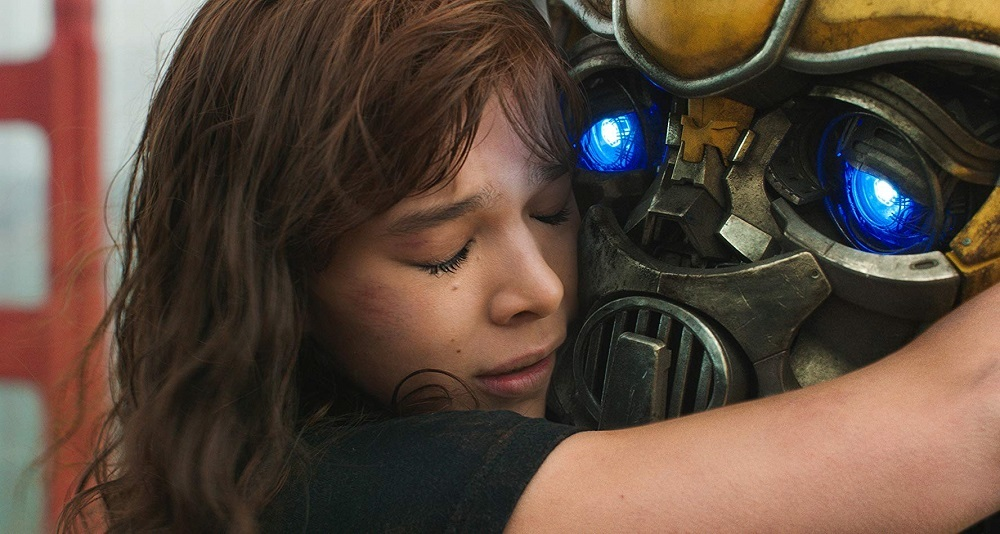 هایلی استینفلد در نمایی از فیلم «بامبلبی» (Bumblebee)