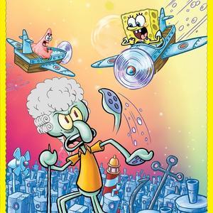 پوستر انیمیشن «باب اسفنجی - پروفسور بختاپوس»