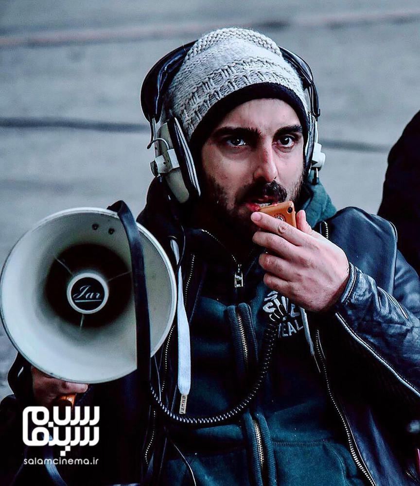 پولاد کیمیایی در پشت صحنه فیلم سینمایی «معکوس»