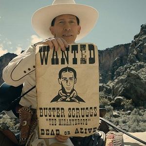 تیم بلیک نلسون در نمایی از فیلم سینمایی «تصنیف باستر اسکروگز» (The Ballad of Buster Scruggs)