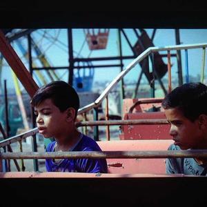 نمایی از مستند «نت های مسی یک رویا»