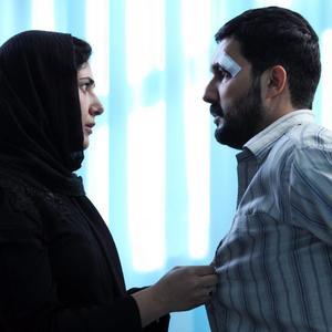 حامد بهداد و باران کوثری در فیلم سینمایی «سد معبر»
