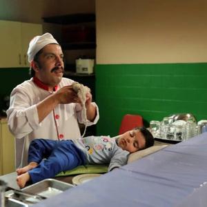 عباس جمشیدی فر در سریال «بچه مهندس 2»