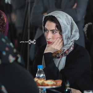 بهناز جعفری در مراسم قرعه کشی برنامه نمایش فیلمهای جشنواره فجر 37