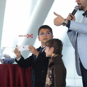 یونا تدین در مراسم قرعه کشی برنامه نمایش فیلمهای جشنواره فجر 37