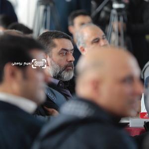 سیدمحمود رضوی در مراسم قرعه کشی برنامه نمایش فیلمهای جشنواره فجر 37