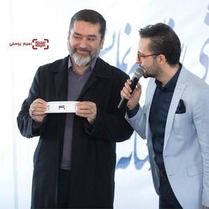 سیدمحمود رضوی در مراسم قرعه کشی برنامه نمایش فیلمهای جشنواره فیلم فجر 37