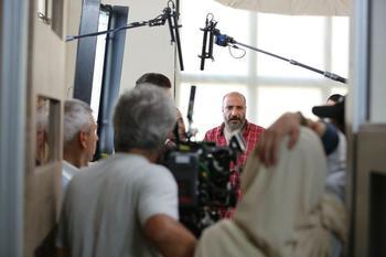 امیر جعفری در پشت صحنه فیلم «سوفی و دیوانه»