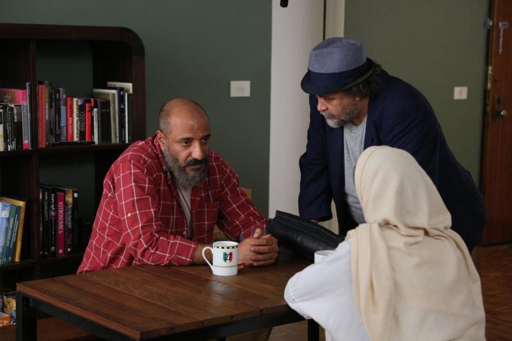 امیر جعفری و محمدرضا شریفینیا در فیلم «سوفی و دیوانه»