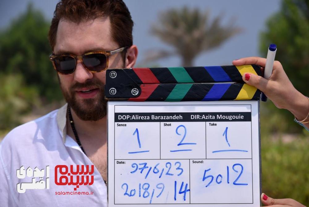 بهرام رادان در پشت صحنه فیلم «ایده اصلی»