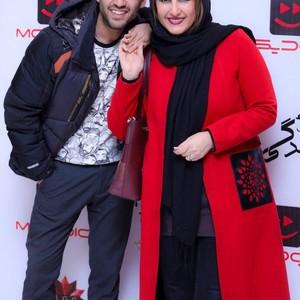 فاطمه گودرزی و پسرش، پویان گنجی در اکران خصوصی فیلم «کوتاه مثل زندگی»