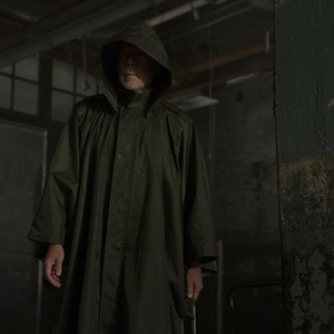بروس ویلیس در نمایی از فیلم سینمایی «گلس» (Glass)