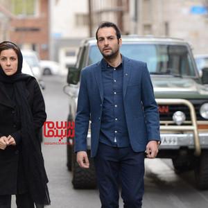 حامد کمیلی و سارا بهرامی در فیلم «جمشیدیه»