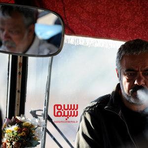 سعید آقاخانی و حسن پورشیرازی در فیلم «قسم»