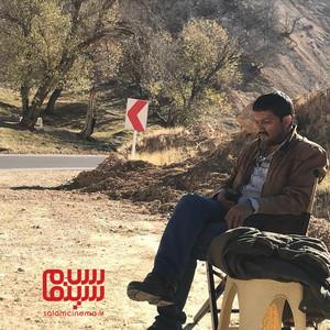 حامد بهداد در پشت صحنه فیلم سینمایی «قصر شیرین»