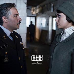 پریناز ایزدیار و نوید محمدزاده در فیلم سینمایی «سرخ پوست»