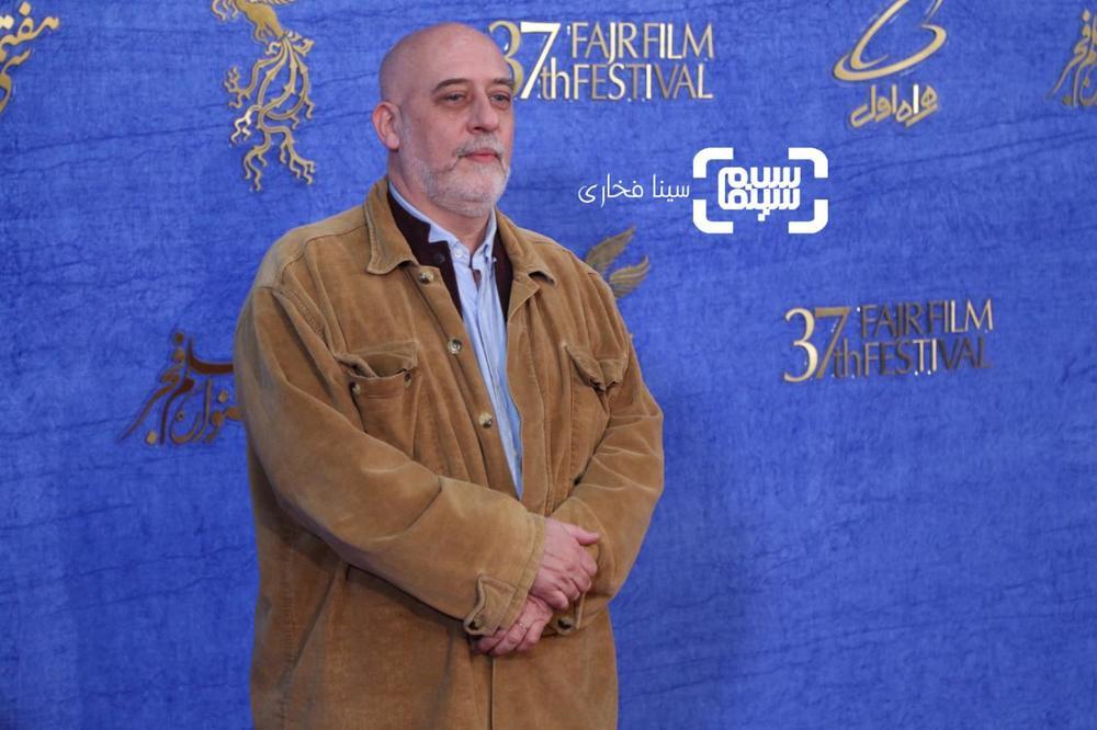 کریستف رضاعی در اکران فیلم «سال دوم دانشکده من» در جشنواره فجر 37