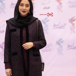 بهاره کیان افشار در افتتاحیه جشنواره فجر 37