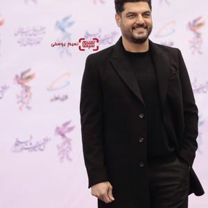سام درخشانی در افتتاحیه جشنواره فجر 37