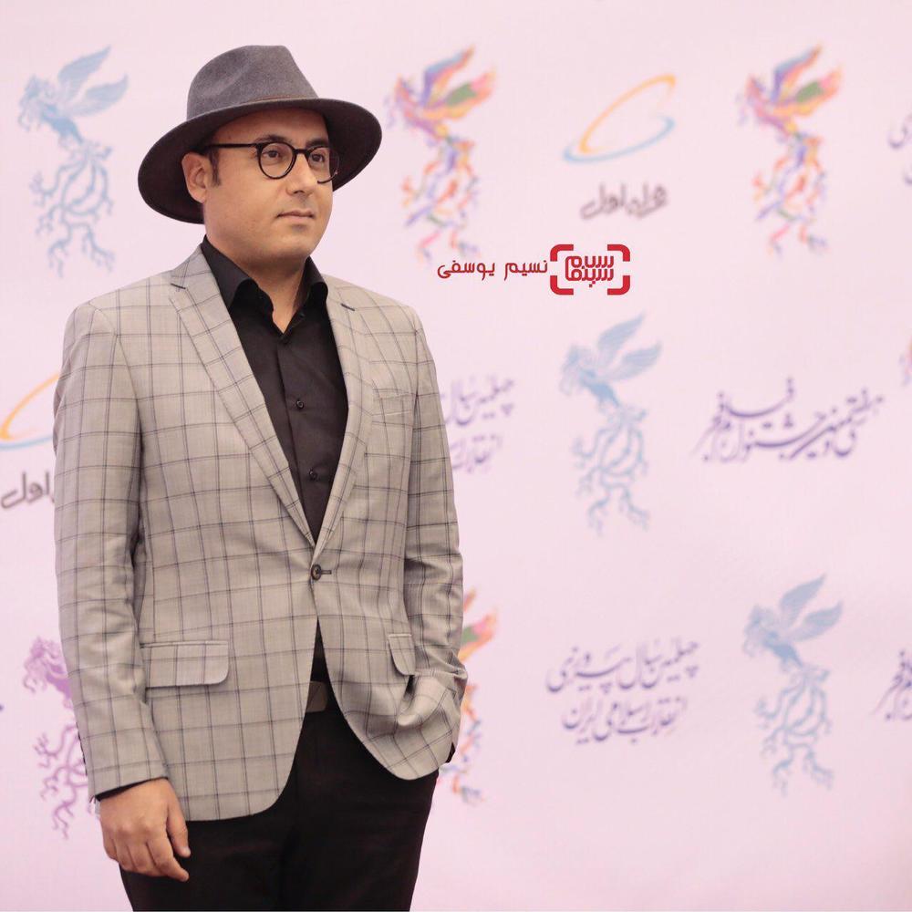 حبیب مجیدی در افتتاحیه جشنواره فیلم فجر 37