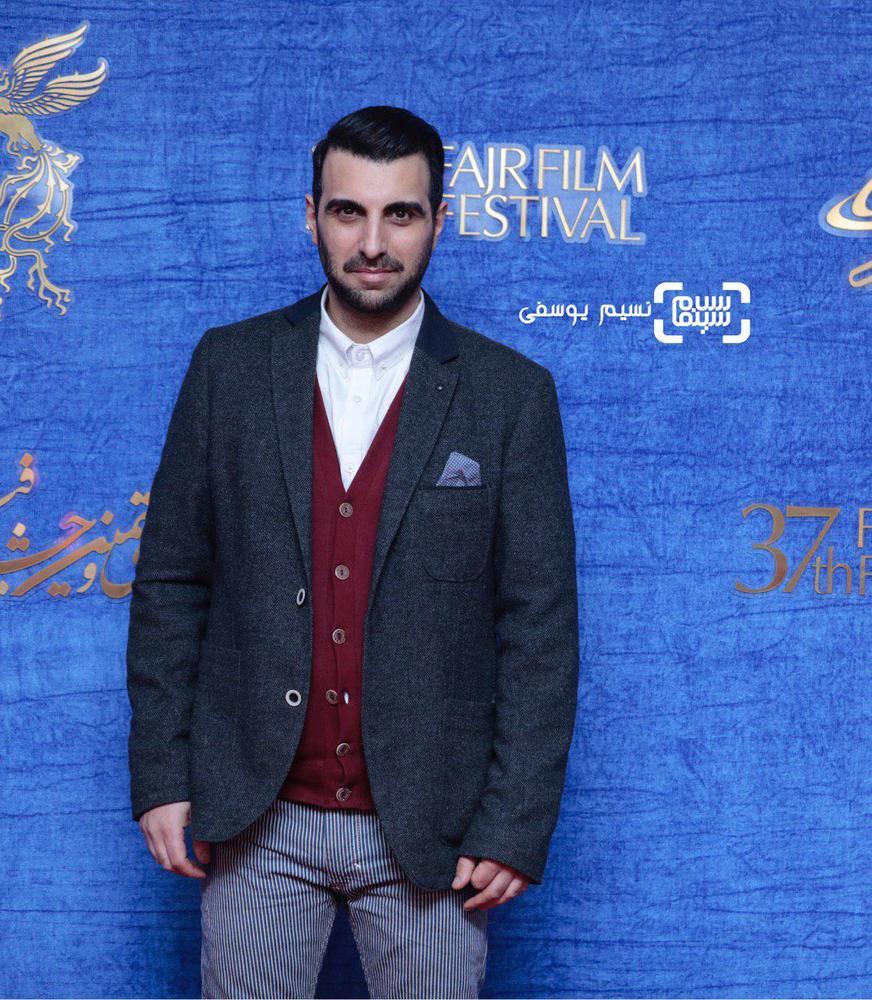 پولاد کیمیایی در اکران فیلم «معکوس» در سینمای رسانه جشنواره فیلم فجر 37