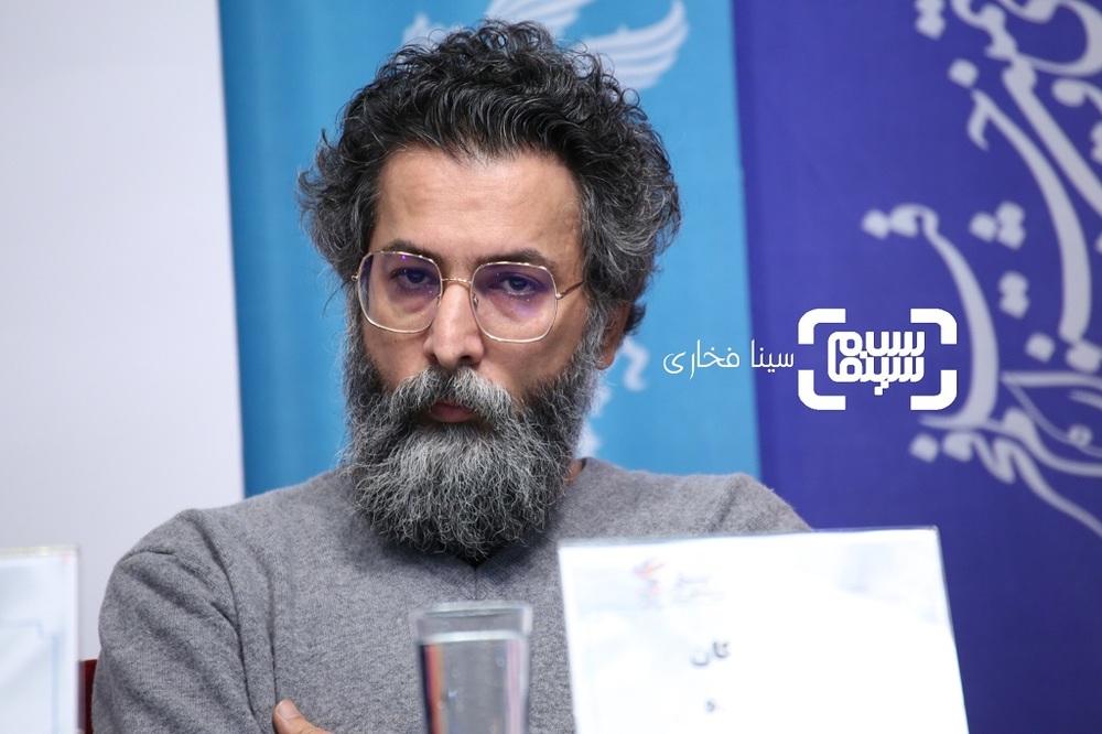 سعید ملکان در نشست خبری فيلم «غلامرضا تختی» در جشنواره فیلم فجر 37