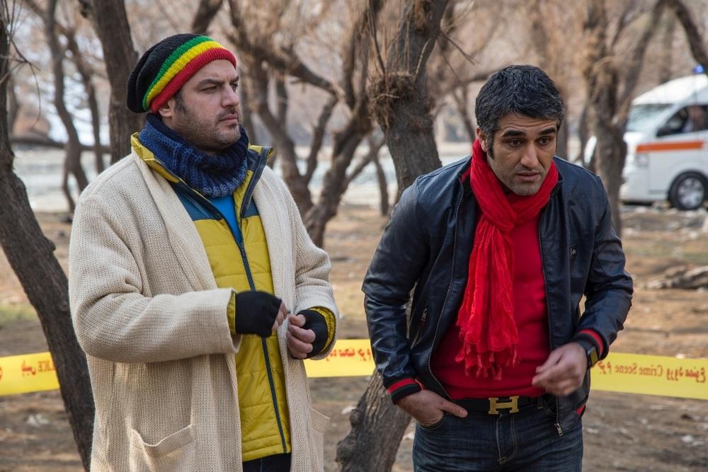 پژمان جمشیدی و سام درخشانی در فیلم سینمایی «خوب، بد، جلف»