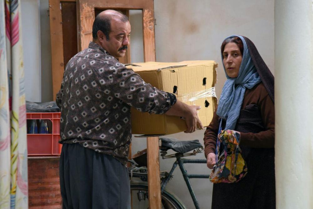 فاطمه معتمدآریا و سعید آقاخانی در فیلم سینمایی «آباجان»