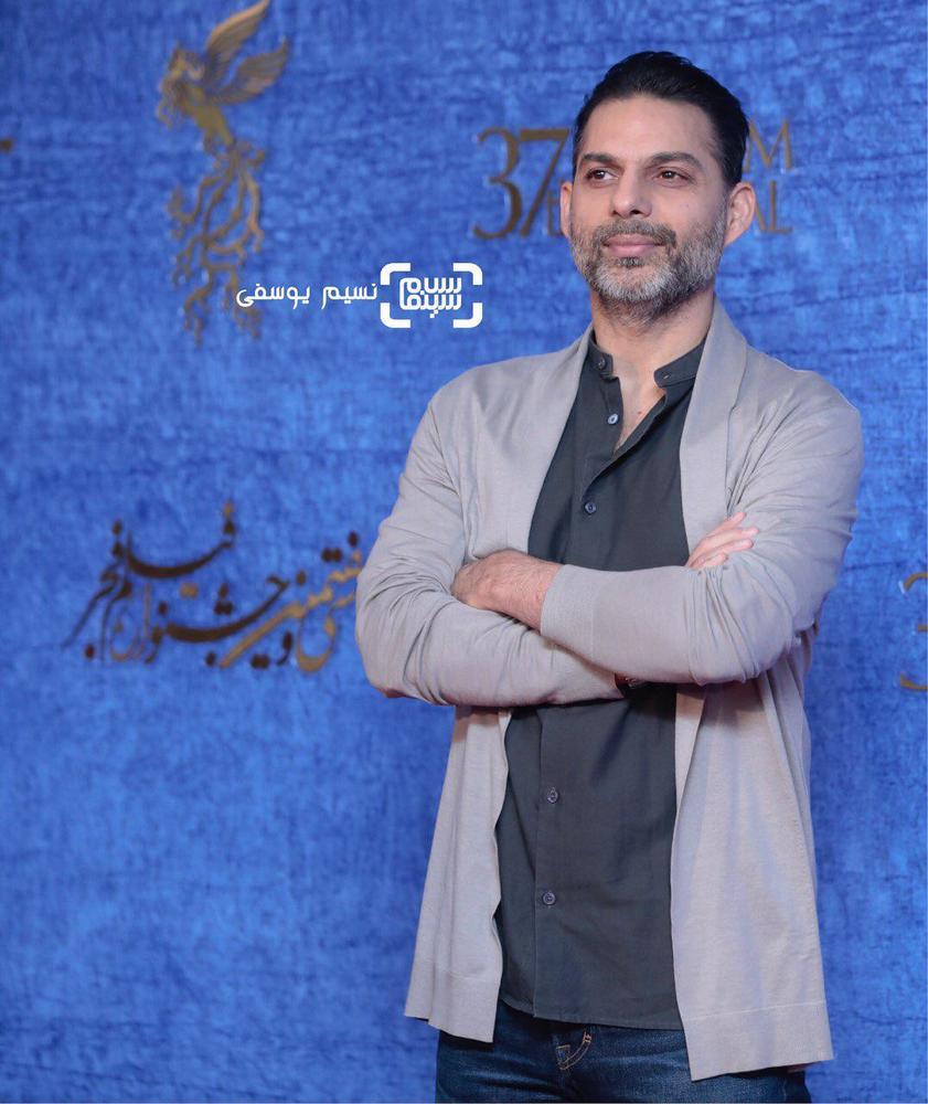 پیمان معادی در اکران فیلم «ناگهان درخت» در جشنواره فجر 37