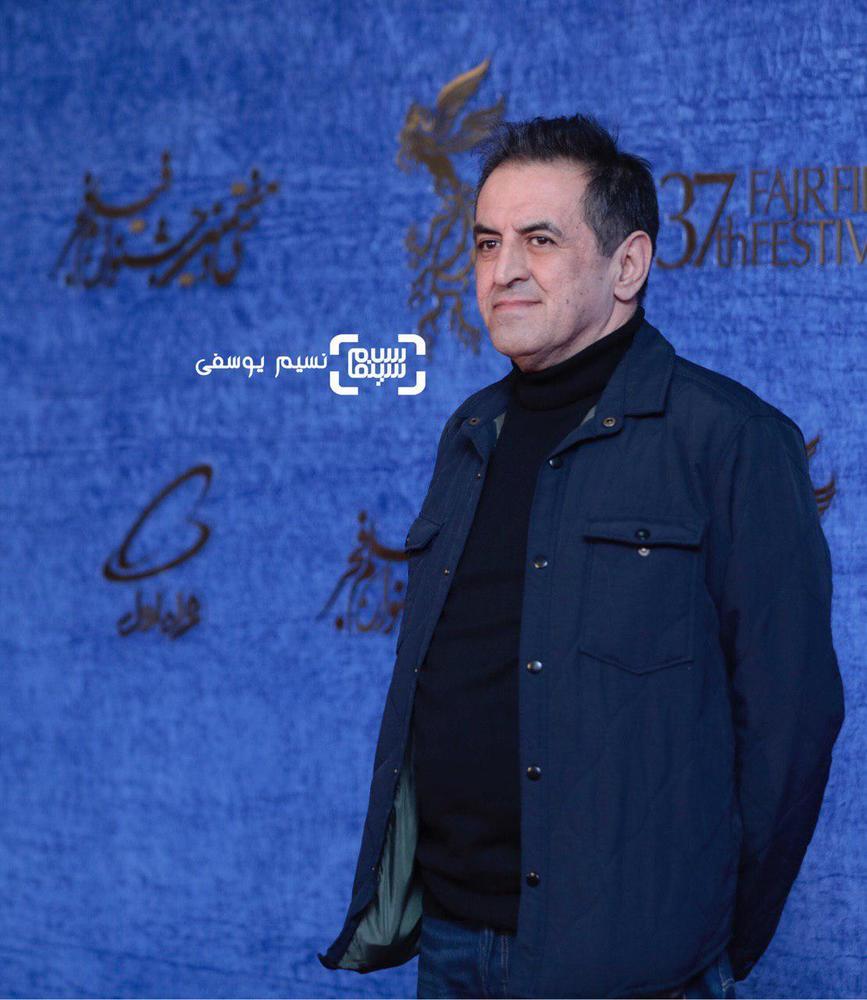 صفی یزدانیان در اکران فیلم «ناگهان درخت» در جشنواره فجر 37