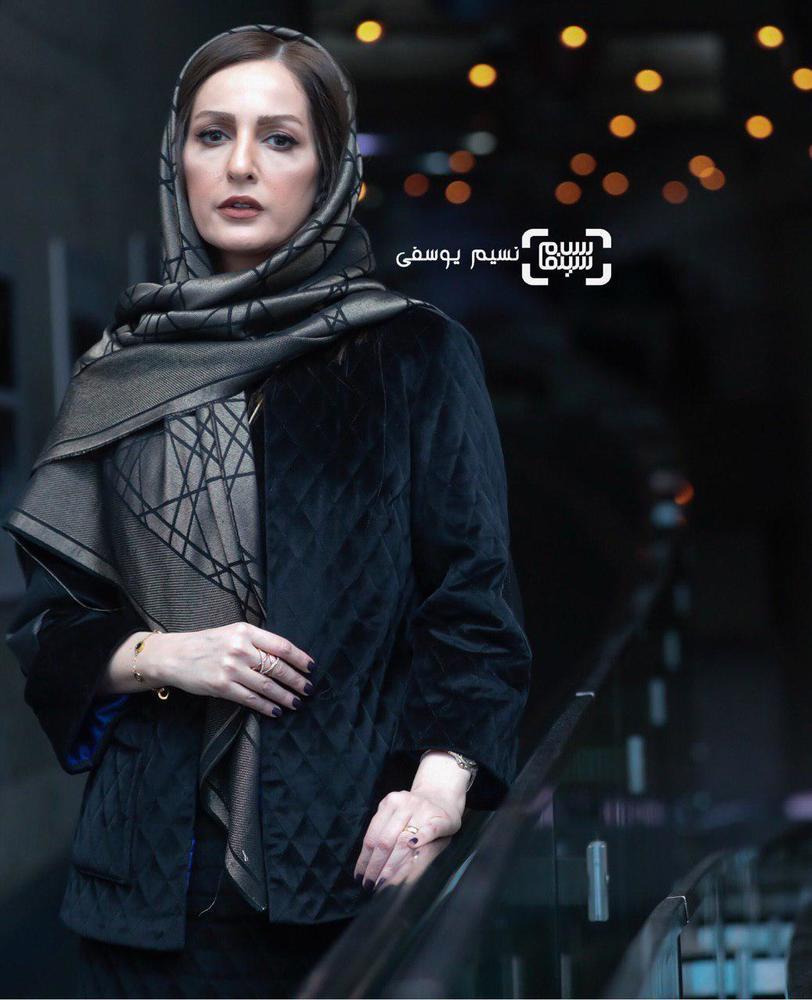 شقایق دهقان در اکران فیلم «ناگهان درخت» در جشنواره فجر 37