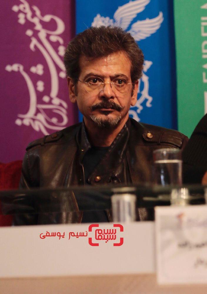 مجید اسکندری در نشست خبری فیلم «سمفونی نهم» در جشنواره فجر 37
