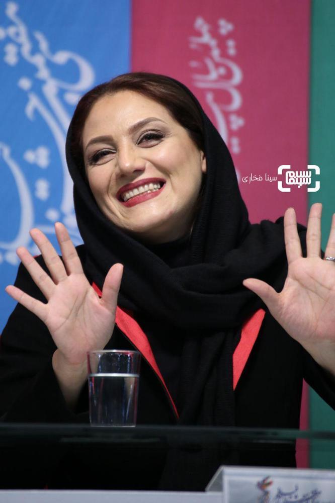 شبنم مقدمی در نشست خبری فیلم «زهرمار» در جشنواره فجر 37