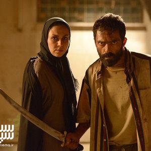 شیوا ابراهیمی و رضا اخلاقی راد در فیلم «خون خدا»