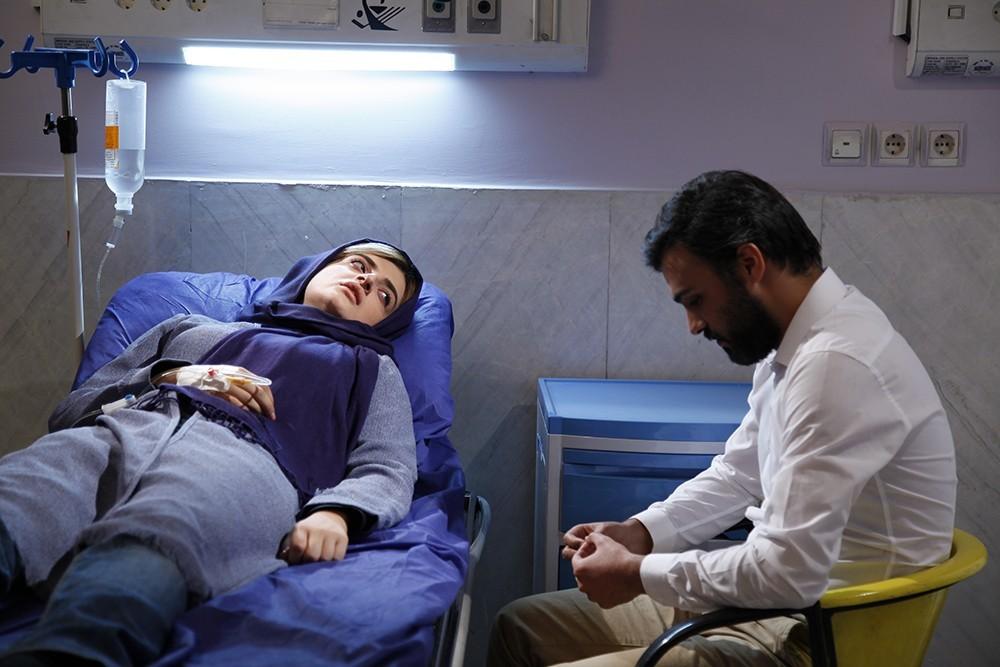 غزل فرید و سامان صفاری در فیلم سینمایی «دعوتنامه»