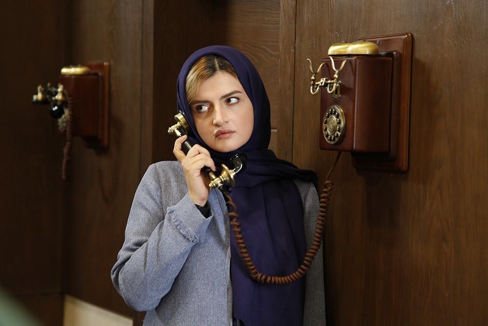 غزل فرید در نمایی از فیلم «دعوتنامه»
