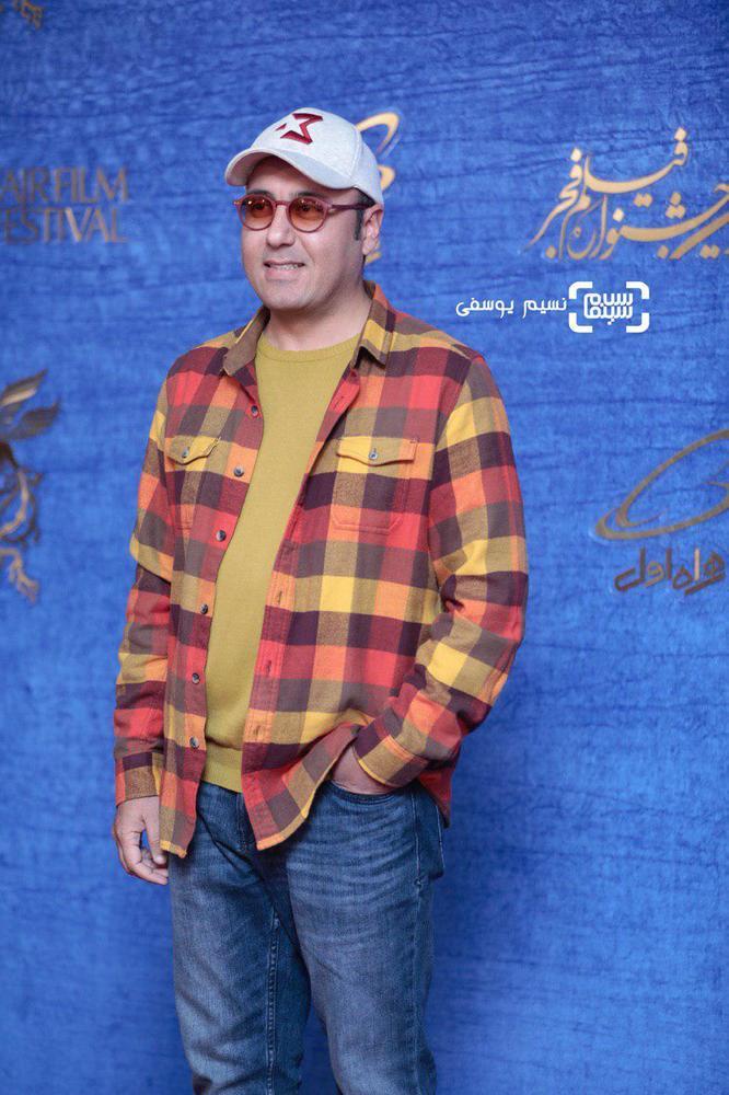 حبیب مجیدی در اکران فیلم «جمشیدیه» در جشنواره فیلم فجر 37