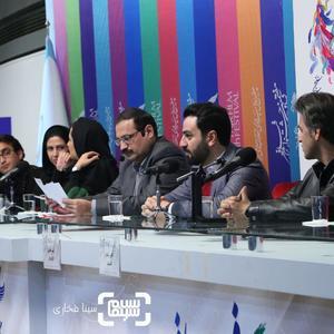 یاسر طالبی در نشست مستند «دلبند» در جشنواره فجر 37