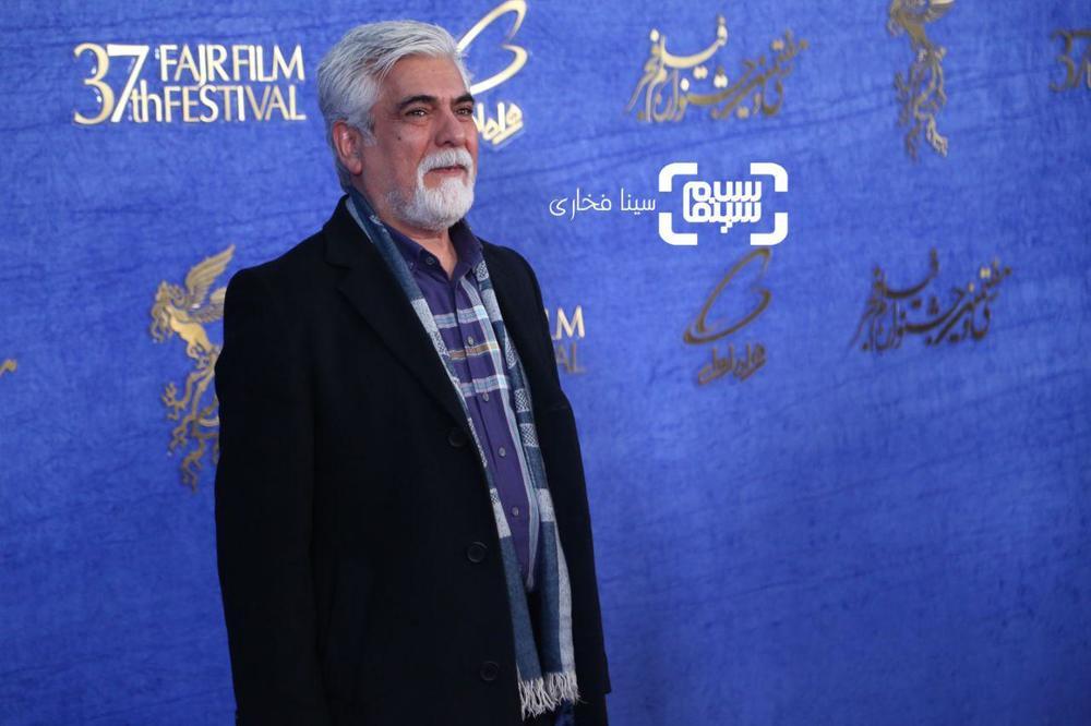 حسین پاکدل در اکران فیلم «دیدن این فیلم جرم است!» در جشنواره فیلم فجر 37