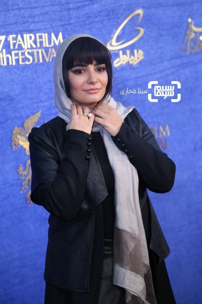 لیندا کیانی در اکران فیلم «دیدن این فیلم جرم است!» در جشنواره فیلم فجر 37