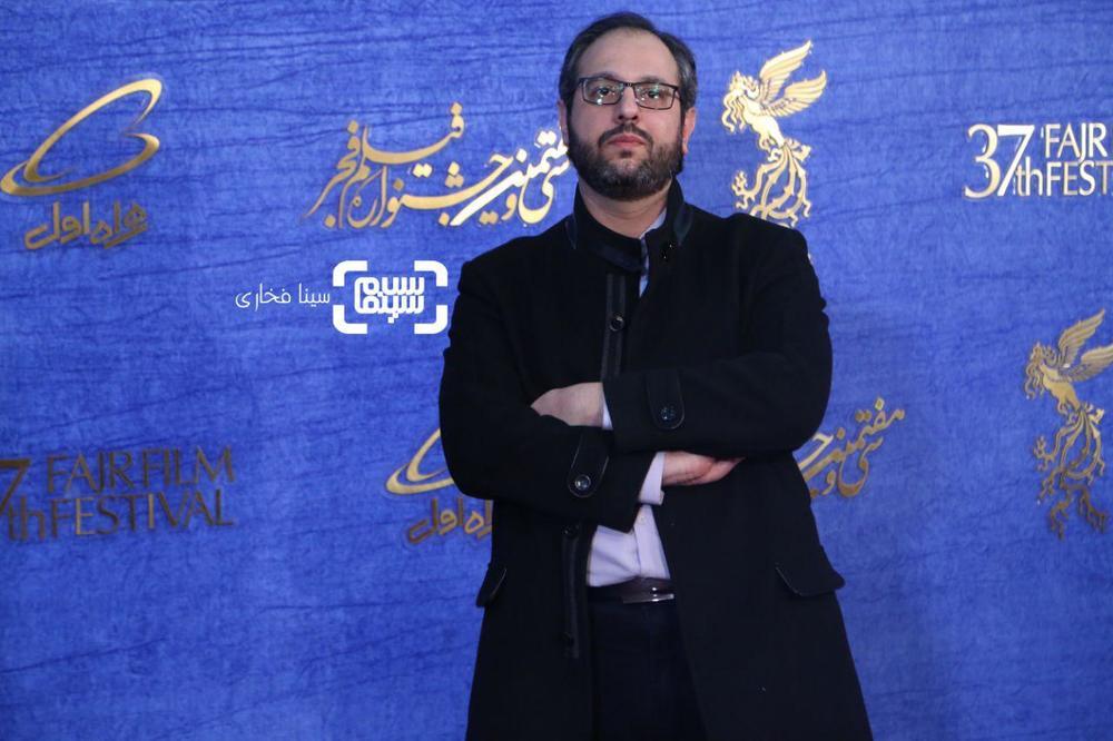 محمدرضا شفاه در اکران فیلم «دیدن این فیلم جرم است!» در جشنواره فجر 37