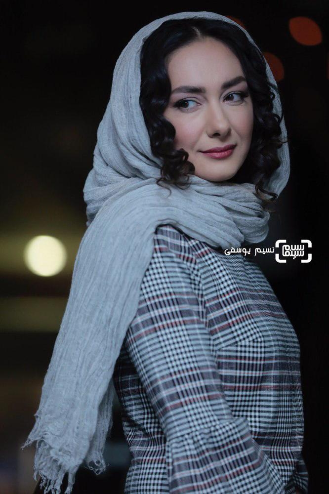 هانیه توسلی در اکران فیلم «ایده اصلی» در جشنواره فیلم فجر 37