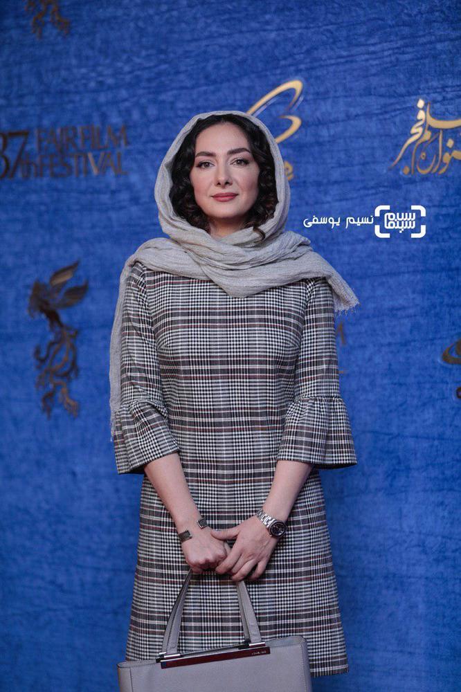 هانیه توسلی در اکران فیلم سینمایی «ایده اصلی» در جشنواره فیلم فجر 37