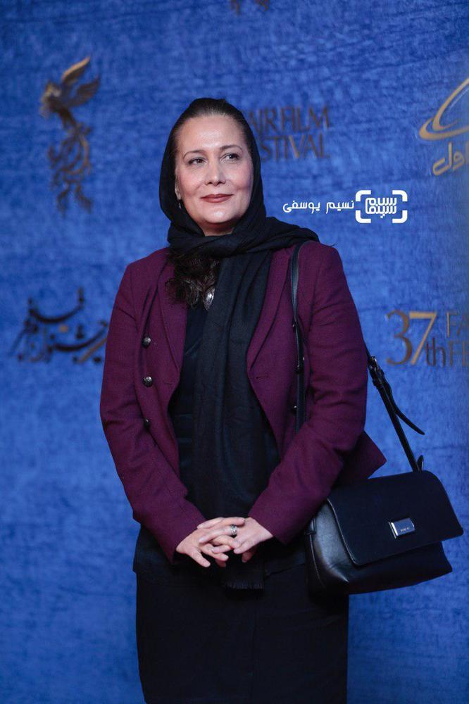 آزیتا موگویی در اکران فیلم سینمایی «ایده اصلی» در جشنواره فیلم فجر 37